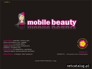 Zrzut ekranu strony mobilebeauty.pl
