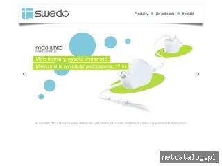 Zrzut ekranu strony www.swedo.pl