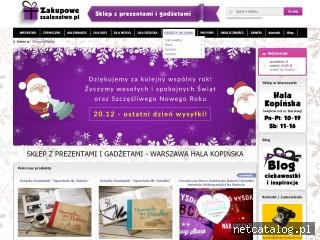 Zrzut ekranu strony zakupoweszalenstwo.pl