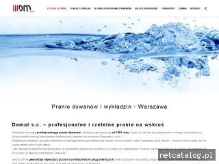 Zrzut ekranu strony damat.pl