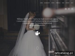Zrzut ekranu strony robimyfilm.pl