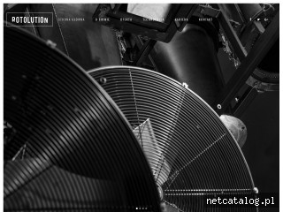 Zrzut ekranu strony www.rotolution.com