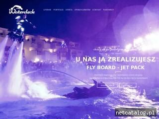 Zrzut ekranu strony www.waterdeck.pl