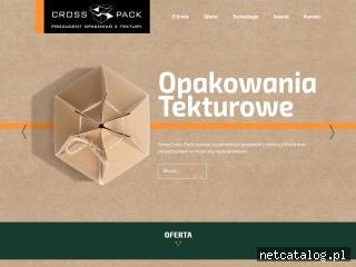 Zrzut ekranu strony crosspack.pl