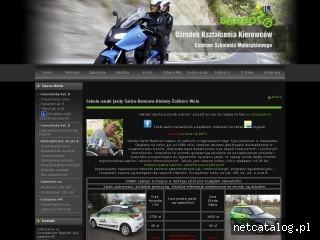 Zrzut ekranu strony www.sarbo.pl