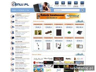 Zrzut ekranu strony www.cenuj.pl