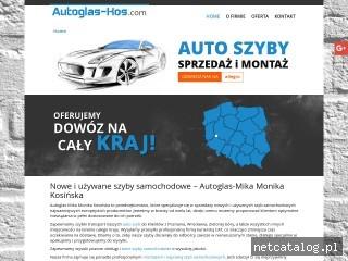 Zrzut ekranu strony autoglas-kos.com