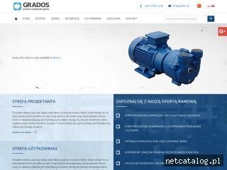 Zrzut ekranu strony www.grados.pl
