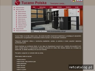 Zrzut ekranu strony www.tucanopolska.com.pl