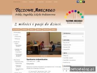 Zrzut ekranu strony www.teczoweabecadlo.pl