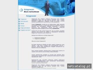 Zrzut ekranu strony www.ksiegowosconline.com