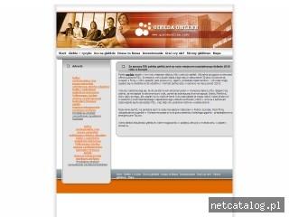 Zrzut ekranu strony www.gieldaonline.info