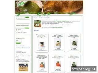 Zrzut ekranu strony www.kozlek.pl