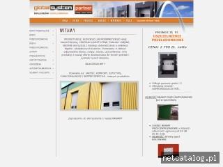 Zrzut ekranu strony www.globalsystem.com.pl