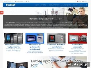 Zrzut ekranu strony www.mikster.eu