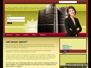 Zrzut ekranu strony hosting.internetowe.ws