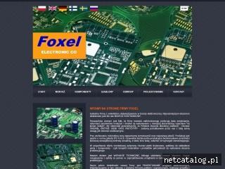 Zrzut ekranu strony www.foxel.pl