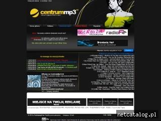 Zrzut ekranu strony www.centrummp3.eu