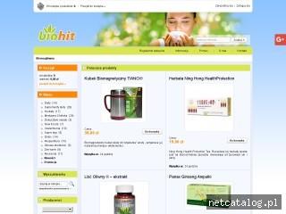 Zrzut ekranu strony biohit.pl