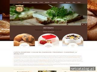 Zrzut ekranu strony www.brzeczek.com.pl