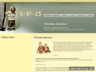 Zrzut ekranu strony www.5-10-15.org
