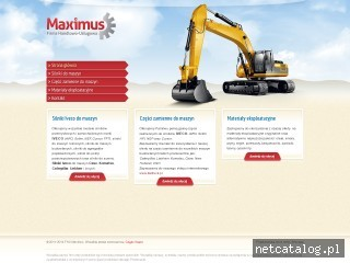 Zrzut ekranu strony www.silnikidomaszyn.pl