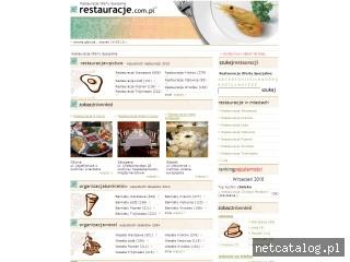 Zrzut ekranu strony www.restauracje.com.pl