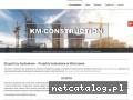 KM-CONSTRUCTION projekty modernizacji warszawa