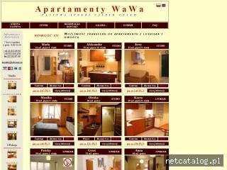 Zrzut ekranu strony www.pokoje-apartamenty.com