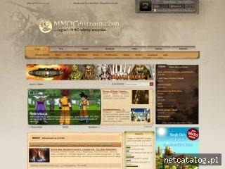 Zrzut ekranu strony www.mmocentrum.com