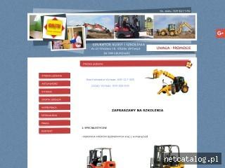 Zrzut ekranu strony edukatorkursy.pl