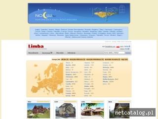 Zrzut ekranu strony nocuj.eu