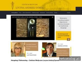 Zrzut ekranu strony centrummedyczne.com.pl