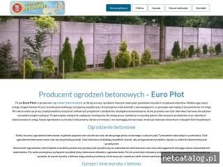 Zrzut ekranu strony euro-plot.pl