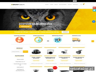 Zrzut ekranu strony snapvision.pl