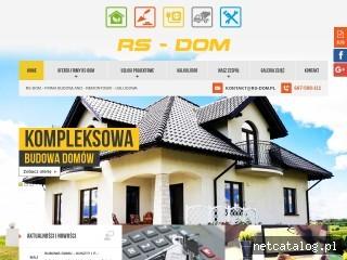 Zrzut ekranu strony rs-dom.pl