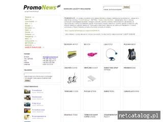 Zrzut ekranu strony www.promonews.pl