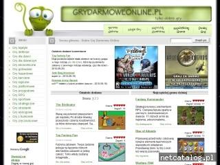 Zrzut ekranu strony www.grydarmoweonline.pl
