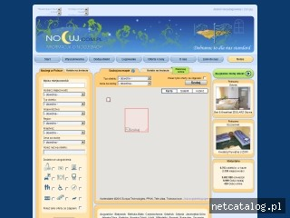 Zrzut ekranu strony nocuj.com.pl