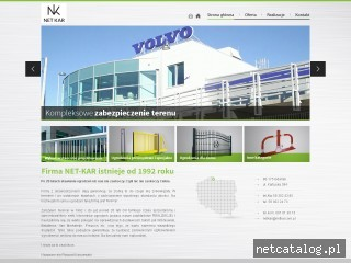 Zrzut ekranu strony www.netkar.com.pl