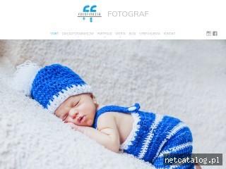 Zrzut ekranu strony www.fotofinezja.pl