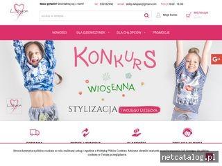Zrzut ekranu strony www.sklep-lalayan.pl