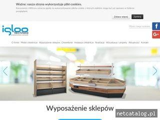 Zrzut ekranu strony www.iglootechnika.pl