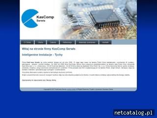 Zrzut ekranu strony www.kascomp.eu