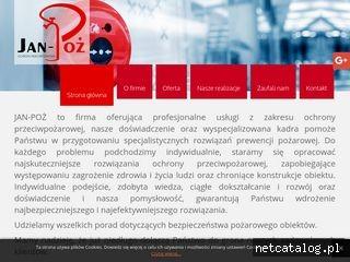 Zrzut ekranu strony janpoz.pl