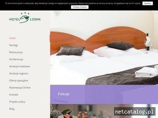 Zrzut ekranu strony hotel-slowik.pl