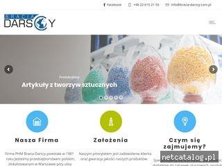 Zrzut ekranu strony www.bracia-darscy.com.pl