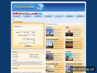 Zrzut ekranu strony hotels-globally.com