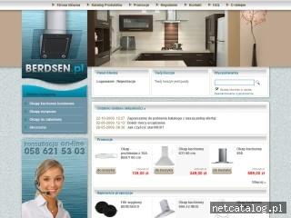 Zrzut ekranu strony www.berdsen.pl