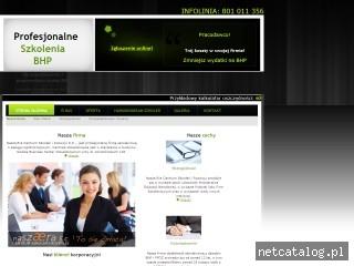 Zrzut ekranu strony psbhp.pl